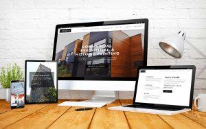 The Algernon website design Richmond, VA.